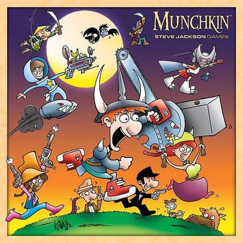 Munchkin - Monster Box - The Board Gamer