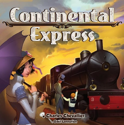 Continental Express - Card Game - The Board Gamer
