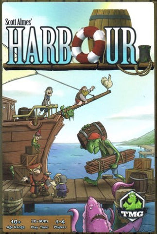 Harbour - Card Game - The Board Gamer