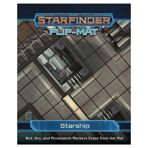 Starfinder RPG: Flip-Mat: Starship - The Board Gamer
