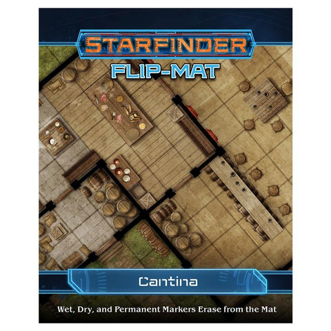 Starfinder RPG: Flip-Mat: Cantina - The Board Gamer