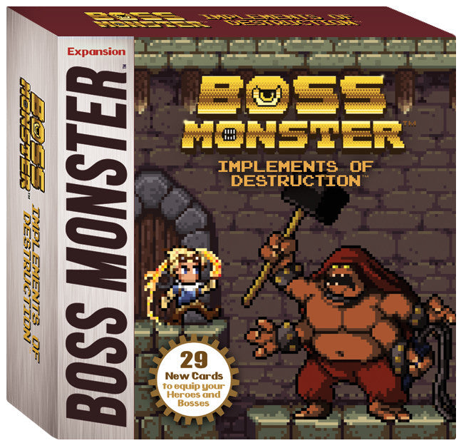 Boss Monster: Implements of Destruction - Expansion Set