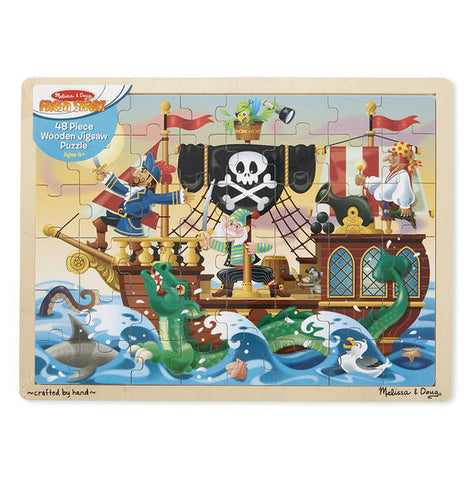 Melissa & Doug: Pirate Adventure Jigsaw Puzzle - 48 Pieces
