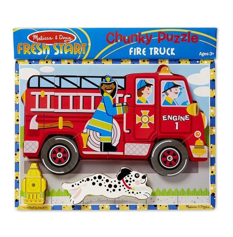 Melissa & Doug: Fire Truck Chunky Puzzle