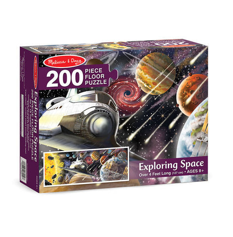 Melissa & Doug: Exploring Space Floor Puzzle - The Board Gamer