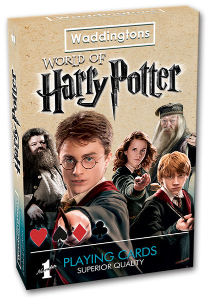Harry Potter Playing Cards - The Board Gamer