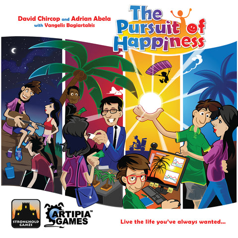 The Pursuit of Happiness - Board Game