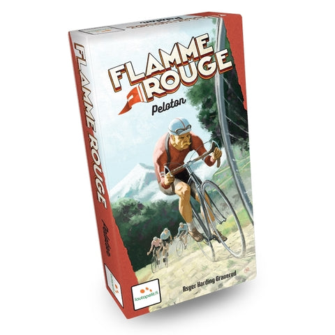 Flamme Rouge Pelaton - The Board Gamer