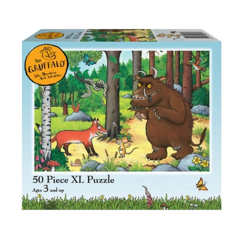 Holdson: Kids Gruffalo - Why Fox Hello 50 Piece XL Puzzle