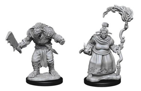 Pathfinder Deep Cuts: Unpainted Miniature Figures - Bugbears - The Board Gamer
