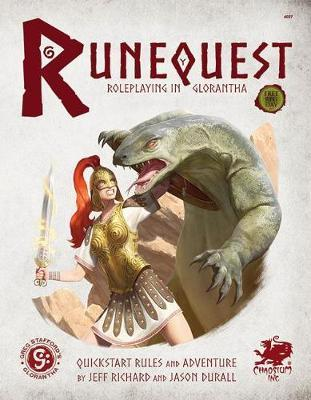 Runequest: Roleplaying in Glorantha Quick Start