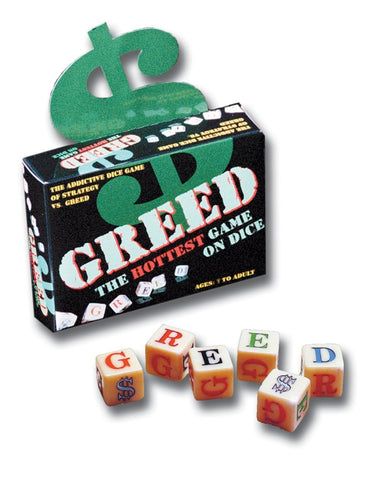 Greed Dice Game - The Board Gamer