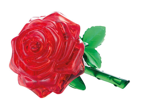 Crystal Puzzle: Red Rose