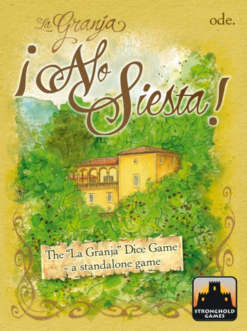 La Granja: No Siesta - Dice Game - The Board Gamer