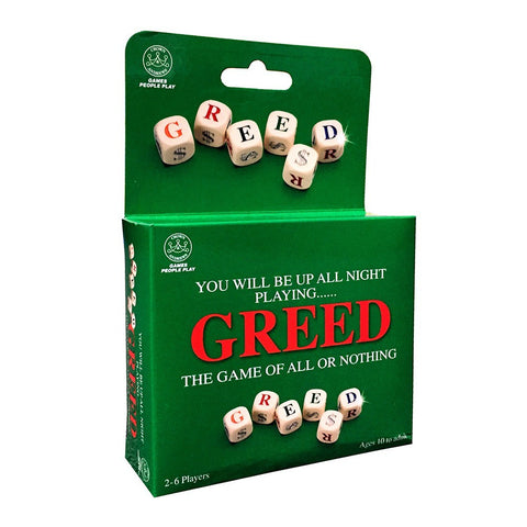 Greed Game - The Board Gamer