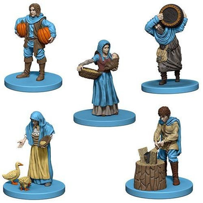 Agricola: Game Pieces - Blue - The Board Gamer