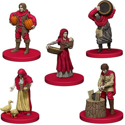 Agricola: Game Piece Expansion - Red