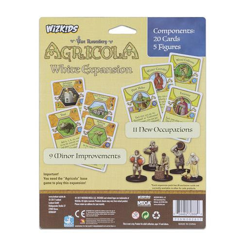 Agricola: Game Piece Expansion - White