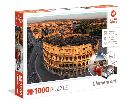 Clementoni: Rome 1000 pc Puzzle with VR - The Board Gamer