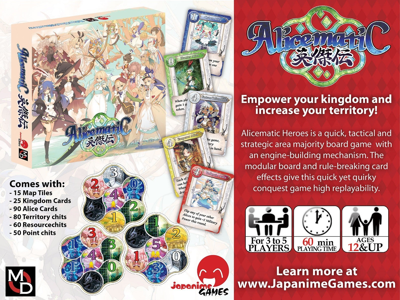 Alicematic Heroes - Card Game