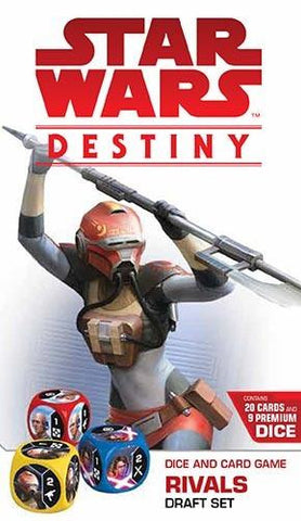 Star Wars Destiny: Rivals Draft Pack - The Board Gamer
