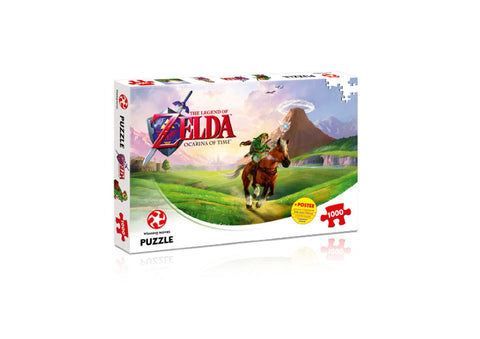 Legend of Zelda Puzzle (1000pc) - The Board Gamer