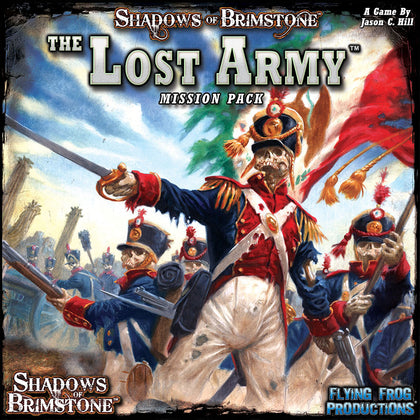 Shadows of Brimstone: Lost Army - Mission Pack