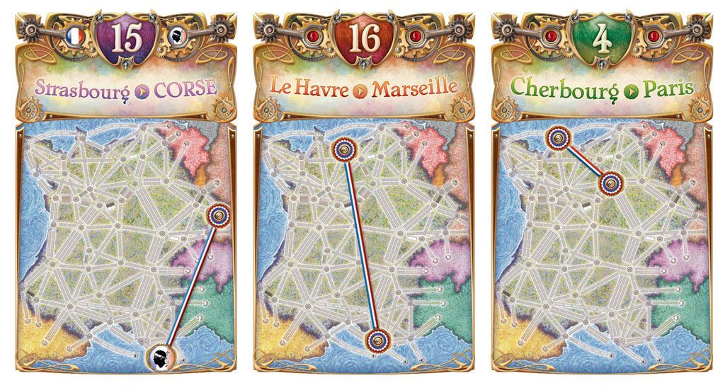 Ticket To Ride: France & Old West - Expansion