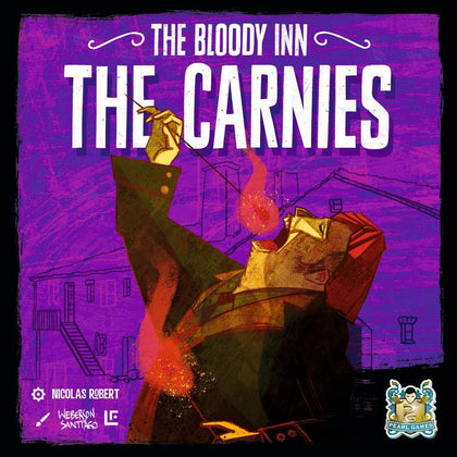 The Bloody Inn: The Carnies - Expansion - The Board Gamer