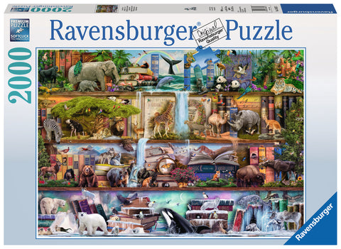 Ravensburger : Wild Kingdom Puzzle 2000pc - The Board Gamer