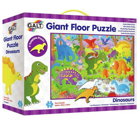 Galt : Dinosaurs Giant Floor Puzzle (30 Pcs) - The Board Gamer