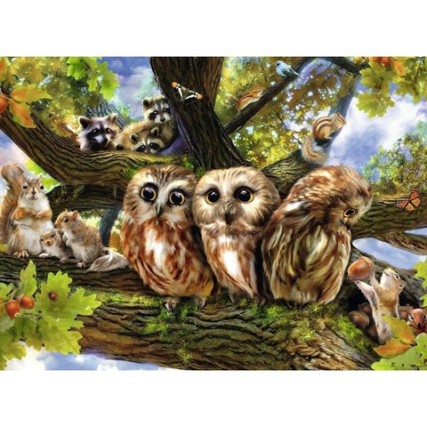 Ravensburger : Woodland Neighbours Puzzle 200pc - The Board Gamer