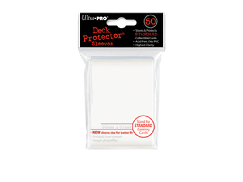 Ultra Pro Solid Deck Protectors: Powder White (50)