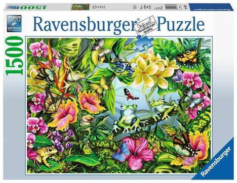 Ravensburger : Find the Frogs Puzzle 1500pc - The Board Gamer