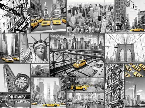 Ravensburger : New York Cabs Puzzle 1500pc - The Board Gamer