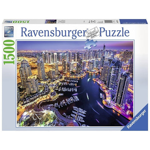 Ravensburger : Dubai on the Persian Gulf Puz 1500pc - The Board Gamer