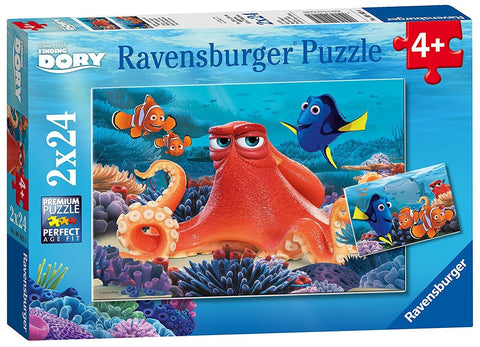 Ravensburger : Disney Finding Dory Puzzle 2x24pc - The Board Gamer