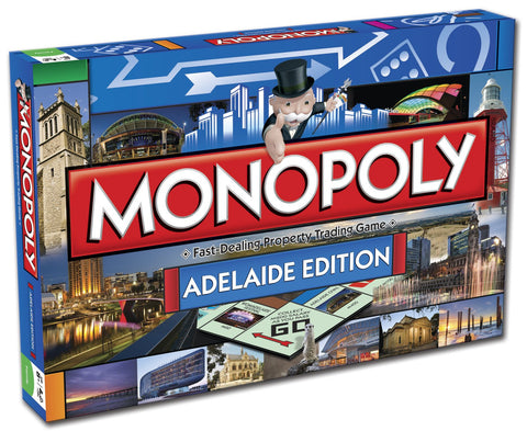 Monopoly: Adelaide Edition - The Board Gamer