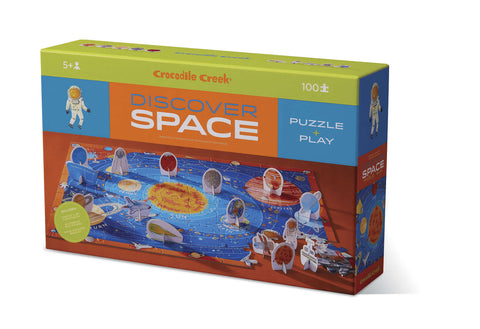 Crocodile Creek: Discover Puzzle - Space (100pc)