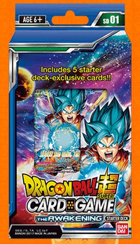 Dragon Ball Super TCG: The Awakening Starter Deck - The Board Gamer