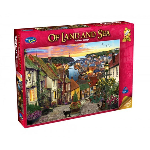 Holdson: 1000 Piece Puzzle - Of Land & Sea (Harbour Village)