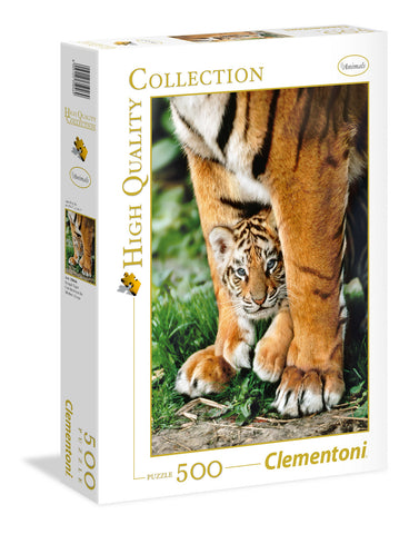 Clementoni: 500-Piece Puzzle - Bengal Tiger - The Board Gamer