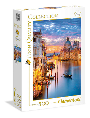 Clementoni: 500-Piece Puzzle - Lighting Venice