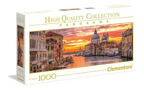 Clementoni: 1000-Piece Puzzle - The Grand Canal-Venice - The Board Gamer