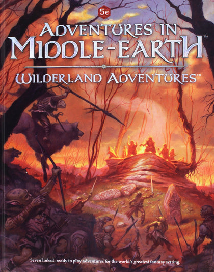 Dungeons and Dragons RPG: Adventures in Middle-Earth - Wilderland Adventures (Hardcover) - The Board Gamer