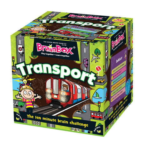 BrainBox - Transport - The Board Gamer