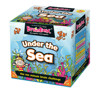 BrainBox - Under the Sea - The Board Gamer