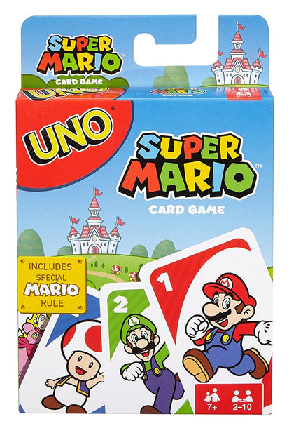 Uno: Super Mario Bros - Card Game - The Board Gamer