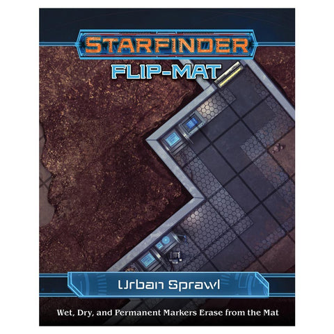 Starfinder RPG: Flip-Mat - Urban Sprawl - The Board Gamer