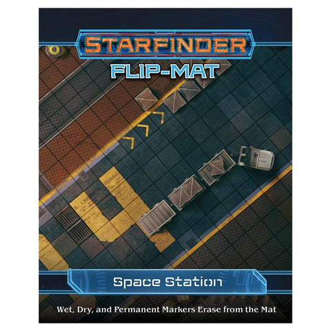 Starfinder RPG: Flip-Mat - Space Station - The Board Gamer